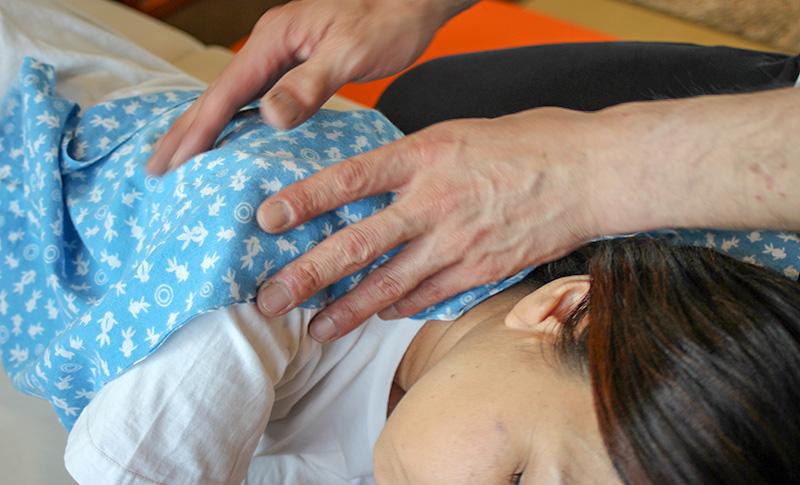 整体と鍼灸の施術