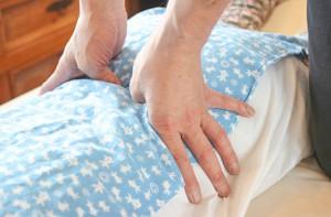 腰の指圧・整体マッサージ画像
